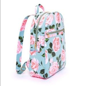 Pink Rose Laptop Backpack 🌸